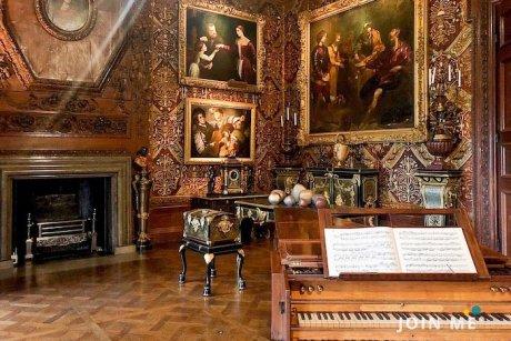 達西莊園/查茨沃斯莊園(Chatsworth House):音樂房