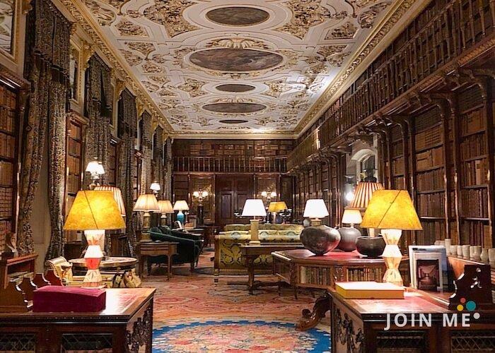 查茨沃斯莊園 Chatsworth house:圖書館