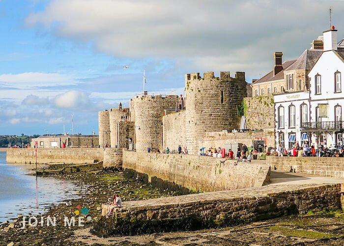 威爾斯 Wales:卡納芬城堡(Caernarfon Castle)