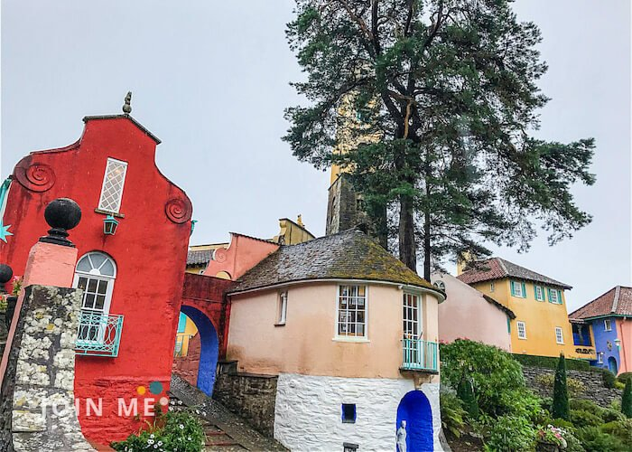 威尔斯Wales:波特梅里恩村(Portmeirion Village)