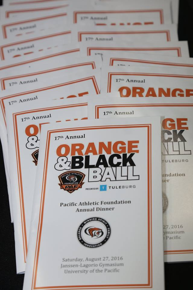 Orange & Black Ball