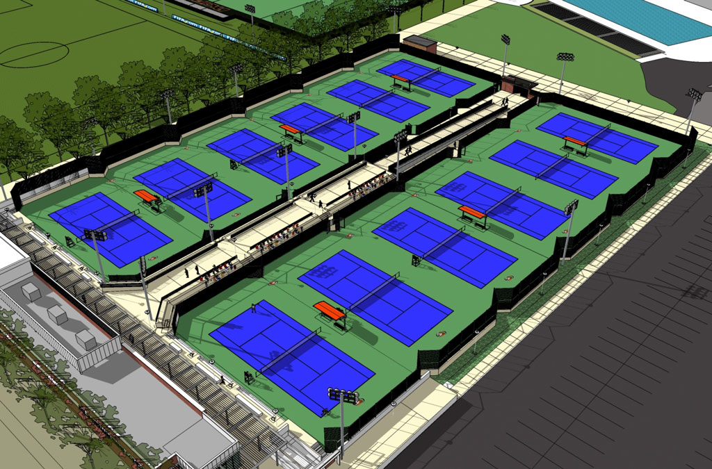 Eve Zimmerman Tennis Center
