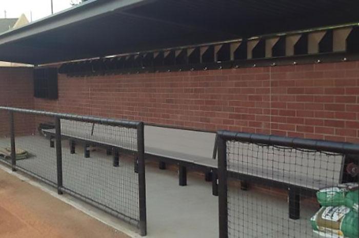 Bill Simoni Field Upgrades