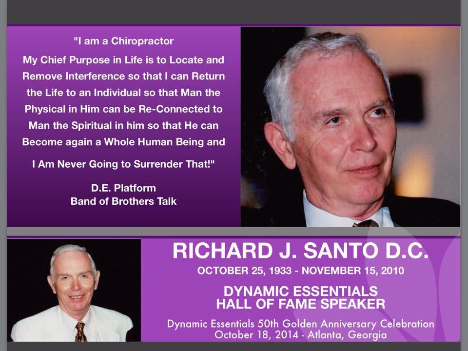 My Mentor... My Friend.... Dr. Richard Santo
