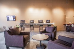 downtown office lounge seating