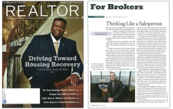 Realtor mag cover