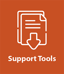 Support tools icon
