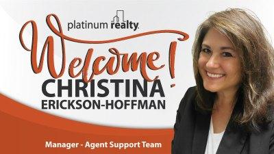 Welcome Christina Erickson-Hoffman