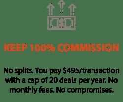 Keep 100% Commission