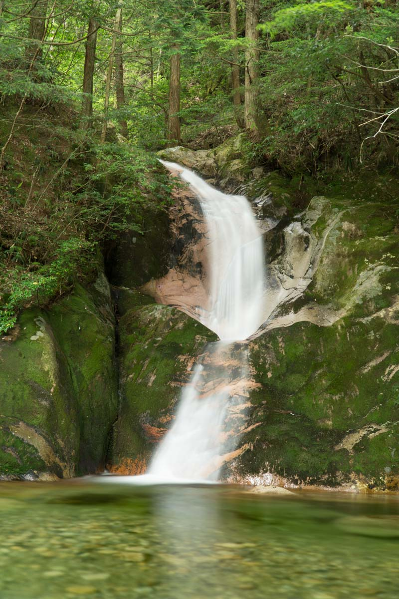 Beautiful Dragon Tail Falls Ryuo-no Taki
