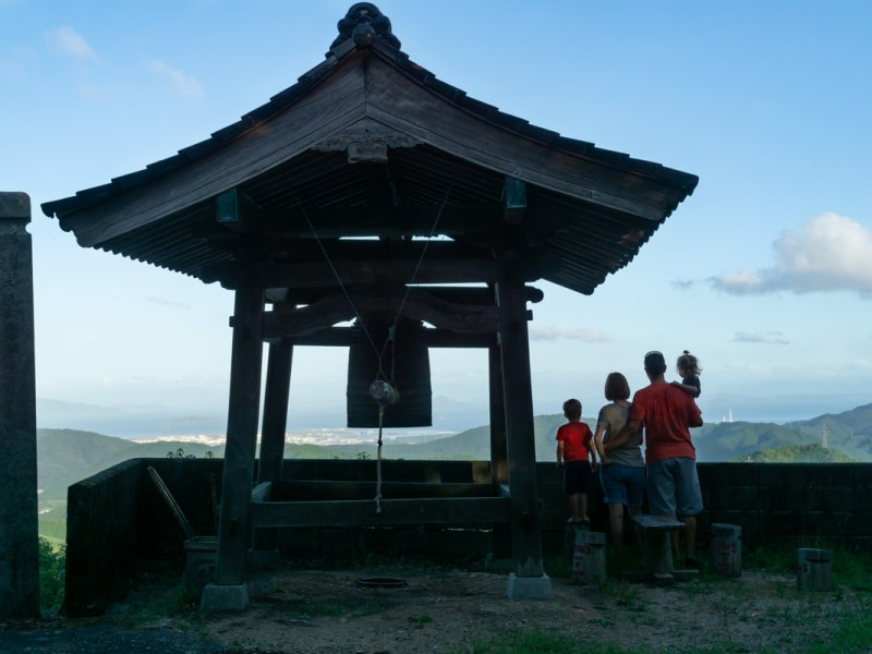 Family at Three Temples
