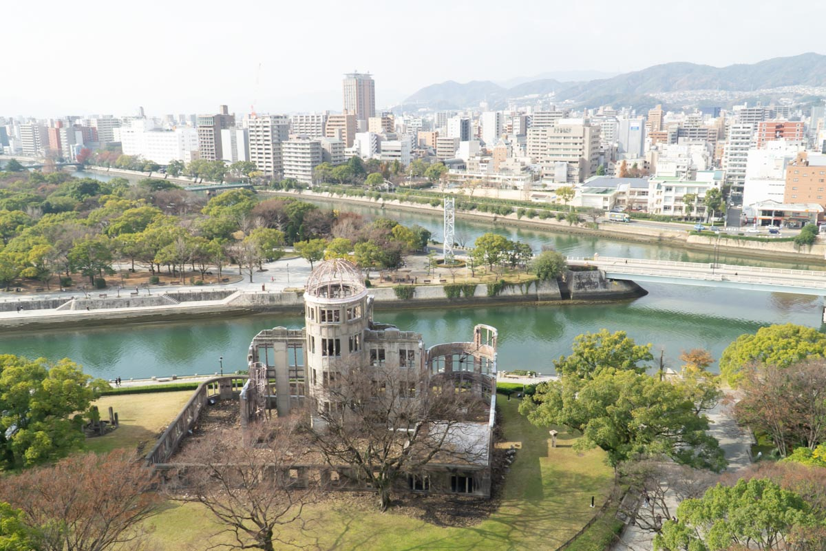 View of A Dome from Orizuru Tower Hiroshima