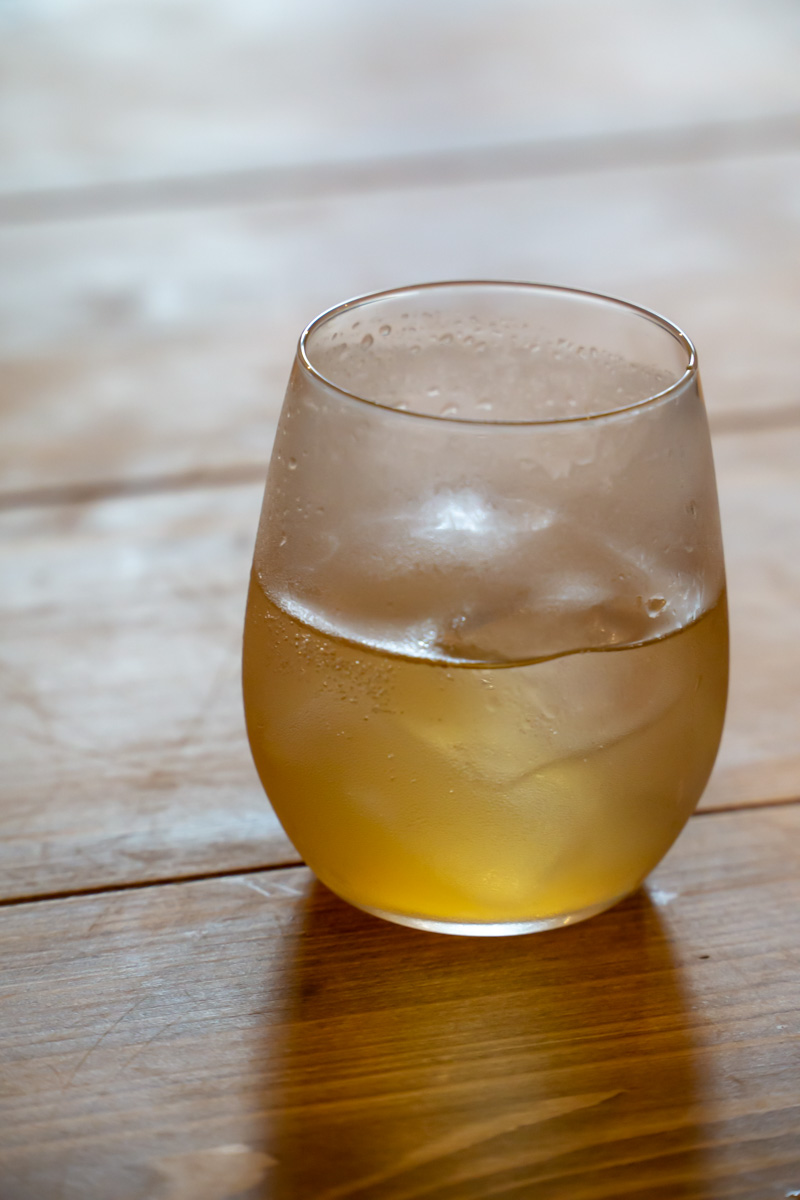 homemade ginger soda