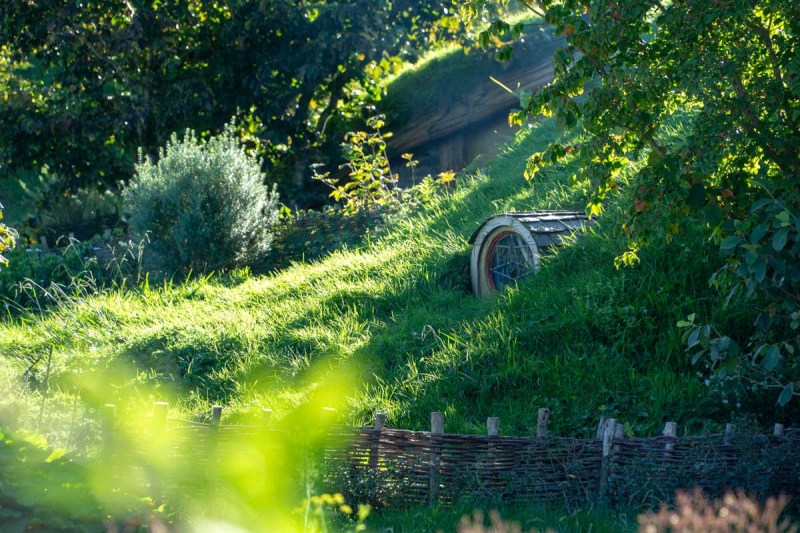 Hobbiton details of the shire