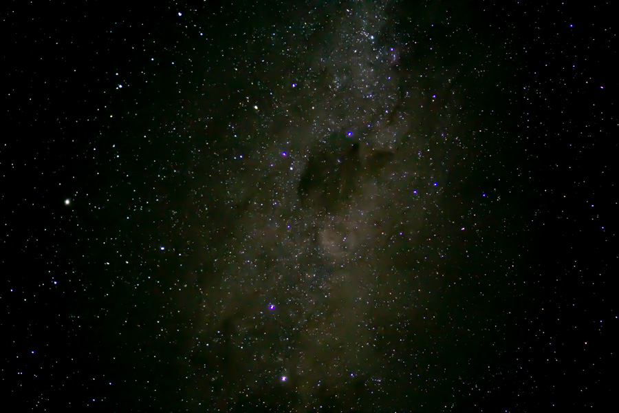 Lake Pukaki area milky way