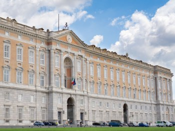 Caserta Palace front view