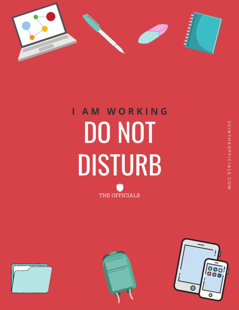 02 Do Not Disturb