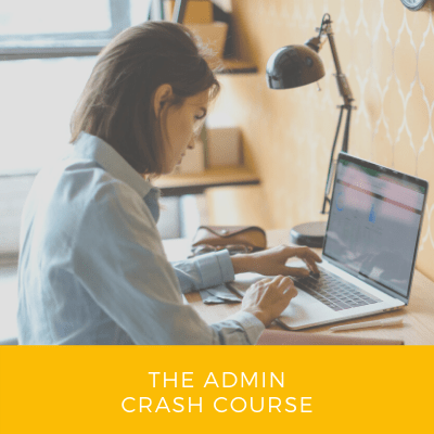 The Admin Crash Course
