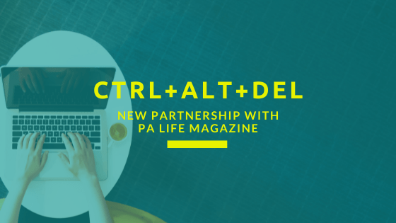 Ctrl+Alt+Del - New Blog for PAs by Lauren Bradley and PA Life