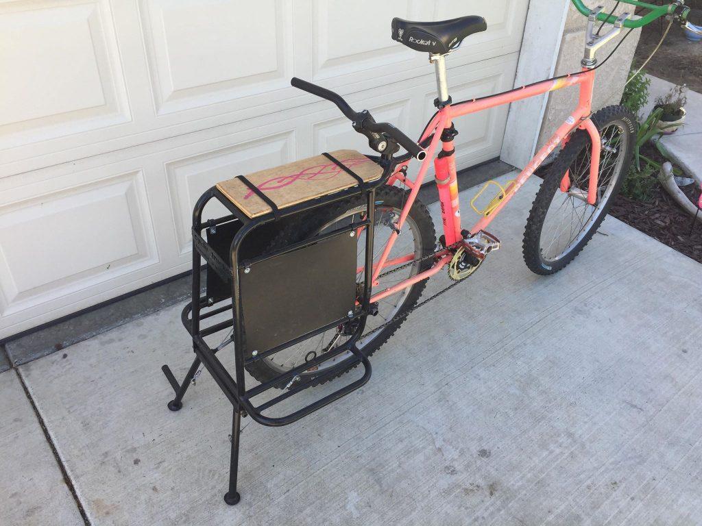 bike beach chair carrier