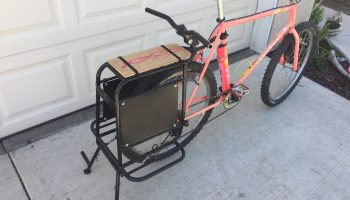 bike beach chair carrier