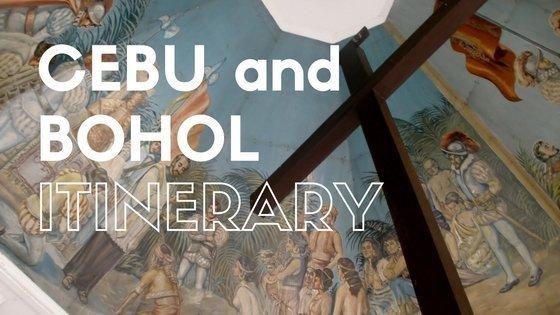 Cebu Itinerary + Bohol Day Trip
