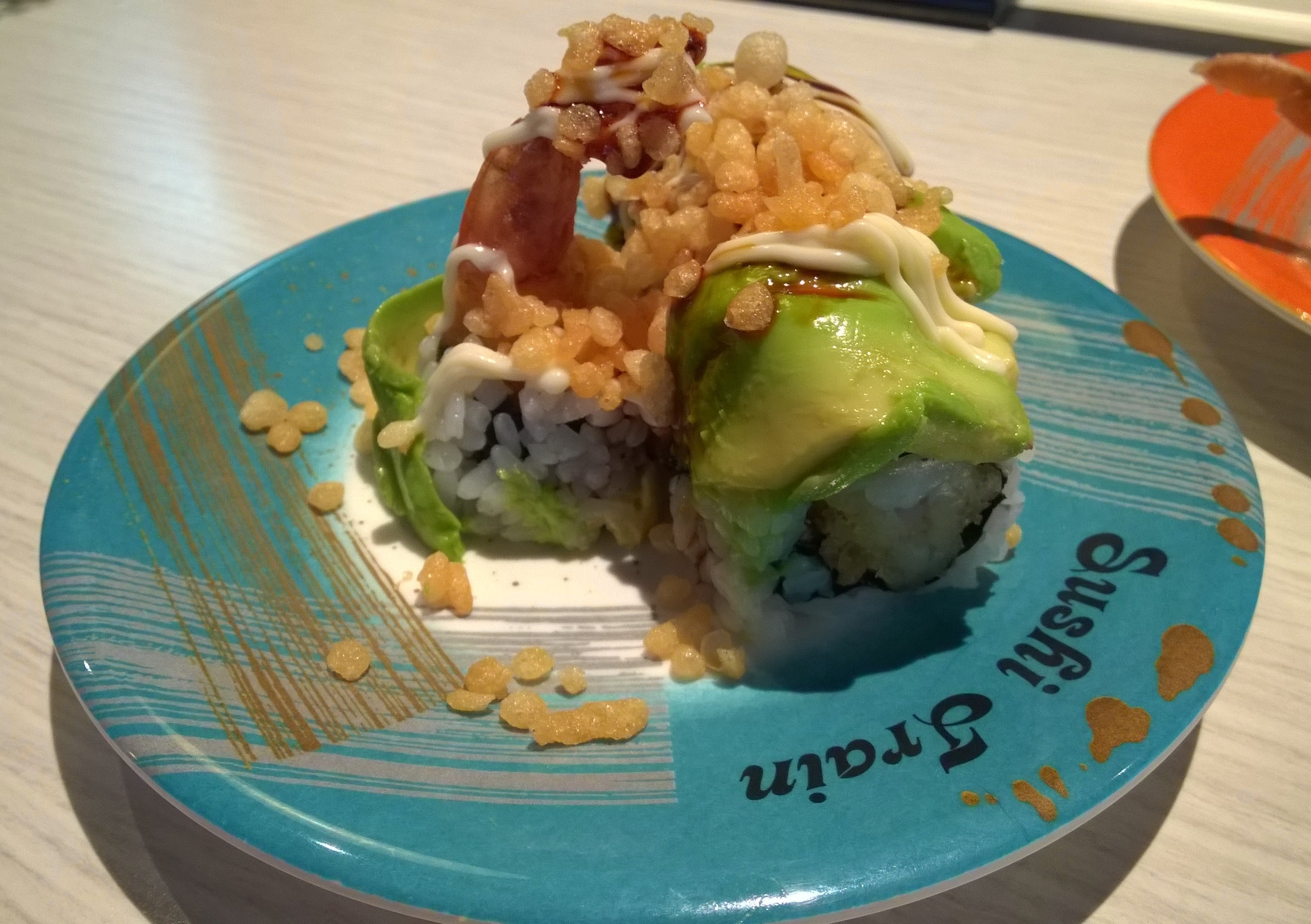 Tiger Roll - Sushi Train Chancery Lane Auckland