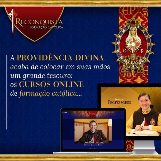 Nova Plataforma de Formação Católica. Inscreva-se