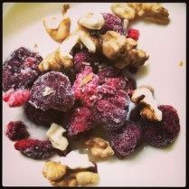 STOP- #breakfast Time! #joghurt + #honey + #raspberry & #walnuts
