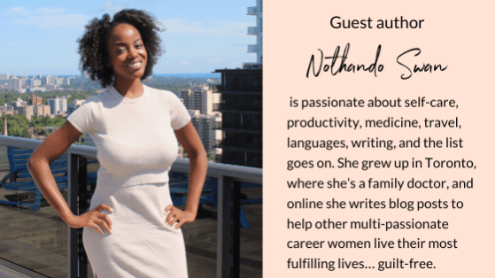 Nothando Swan | Staying Calm in Panic | stress and anxiety relief | Self-Care | multi-passionate creatives | Joi Knows How blog