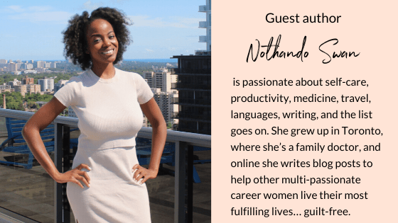 Overcome Imposter Syndrome in 4 easy steps | Guest post by Nothando Swan | Multi-passionate creative | Joi Knows How