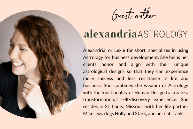 joi knows how blog guest author Alexandria Astrology
