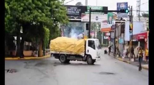 Video: Varios heridos en República Dominicana por enfrentamientos entre estudiantes y policía