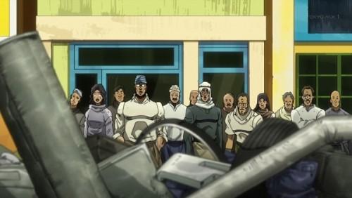 ジョジョ アニメ 第三部 第31話 ガラクタの山