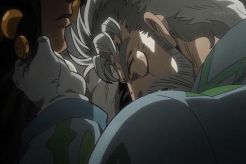 ジョジョ アニメ 第三部 第3話 憤るジョセフ