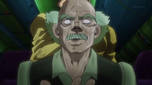 ジョジョ アニメ 第三部 第4話 花京院 当て身