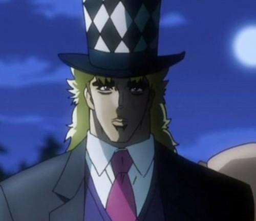 ジョジョ アニメ ツェペリさんの帽子