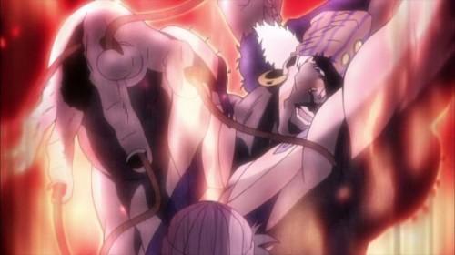 ジョジョ アニメ 第17話 エシディシ 怪焔王の流法