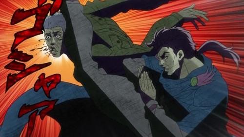 ジョジョ アニメ 第10話 ストレイツォの裏切り
