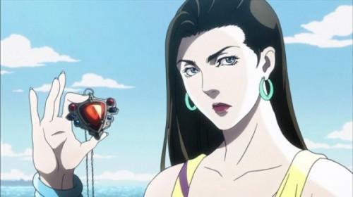 ジョジョ アニメ 第17話 リサリサとエイジャの赤石