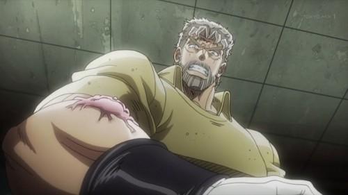ジョジョ アニメ 第三部 第12話 女帝 「あんたが何を考えているか」