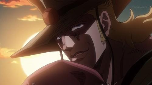 ジョジョ アニメ 第三部 第10話 ホル・ホース ゲスい笑顔