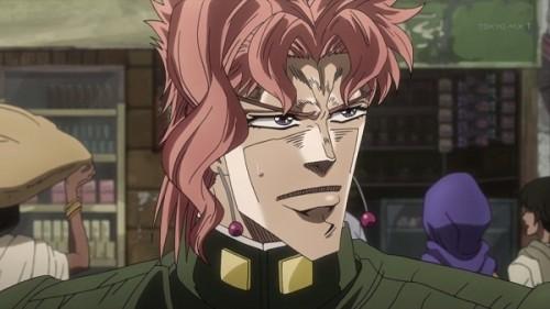 ジョジョ アニメ 第三部 第10話 アヴドゥルを探す花京院