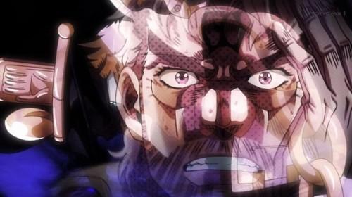 ジョジョ アニメ 第三部 第16話 ジョセフ 「なんとかしなければ」