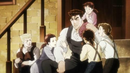 ジョジョ アニメ 第20話 シーザーの父 マリオ
