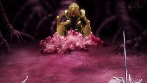 ジョジョ アニメ 第三部 第17話 肉の芽をこねるラバーズ