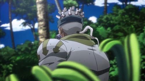 ジョジョ アニメ 第三部 第21話 走り去る謎の男