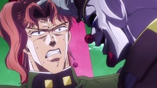 ジョジョ アニメ 第三部 第19話 死神13 「おとなしくしろッ」