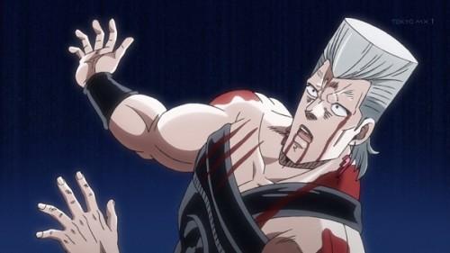 ジョジョ アニメ 第三部 第22話 ズッコけるポルナレフ