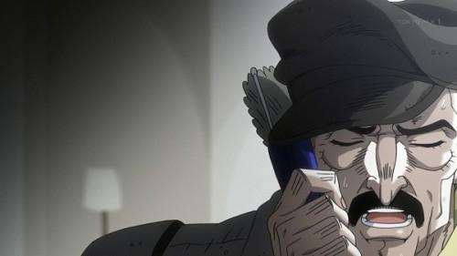 ジョジョ アニメ 第三部 第23話 電話をするローゼス